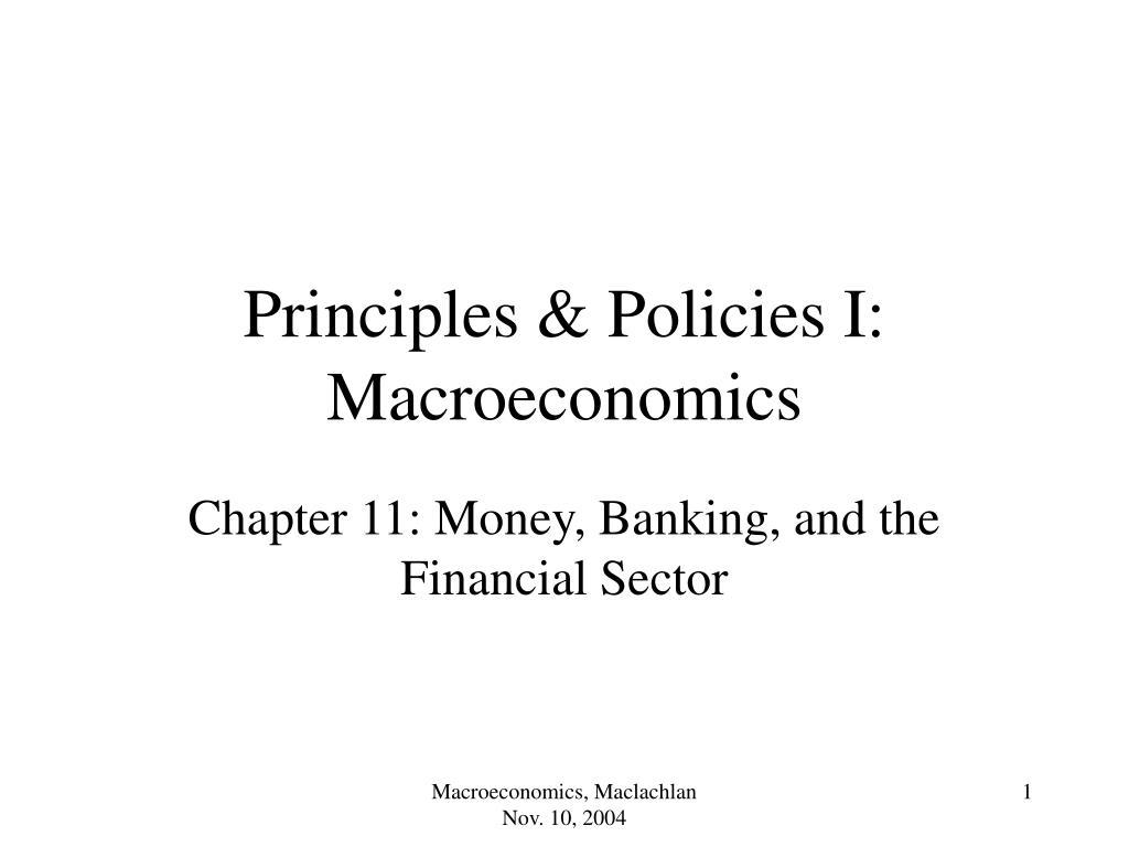 principles policies i macroeconomics l.