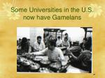 some universities in the u s now have gamelans