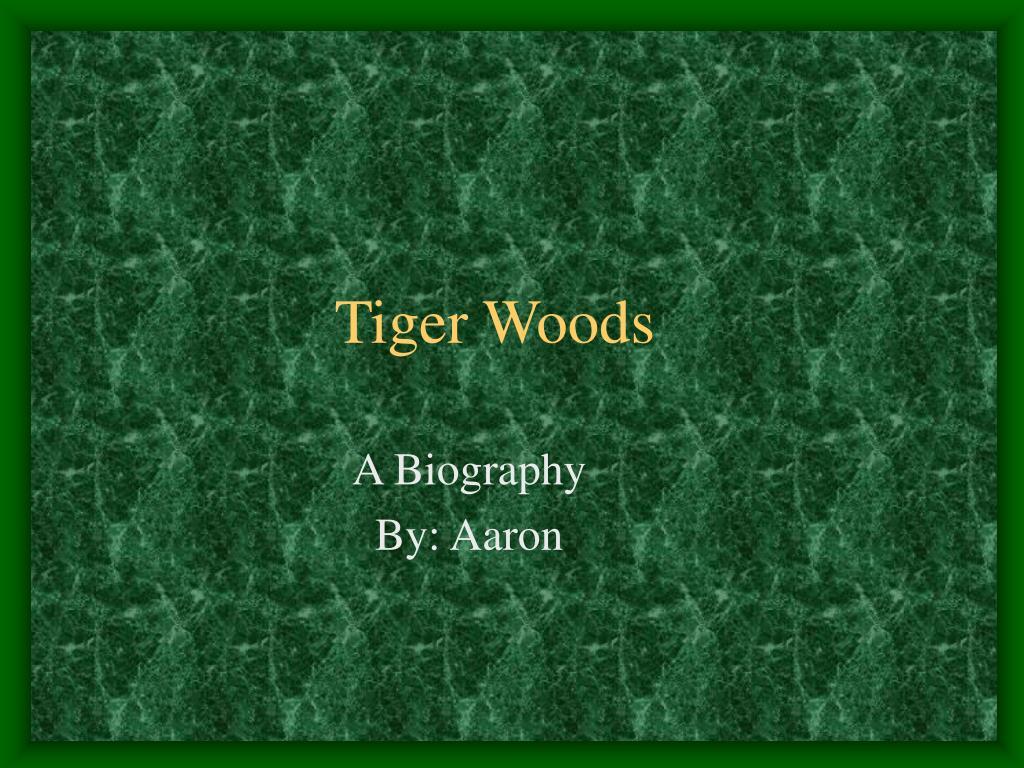tiger woods l.