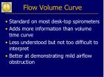 flow volume curve