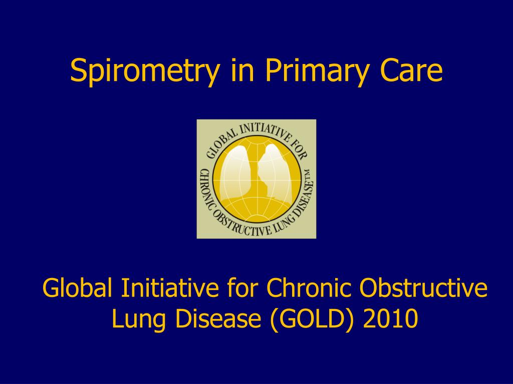 spirometry in primary care l.