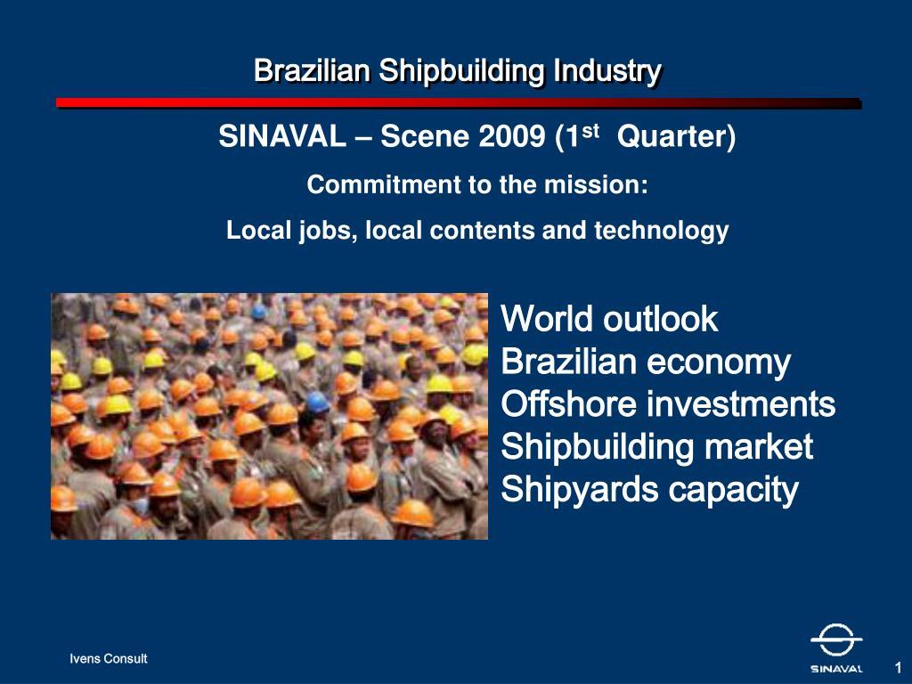 brazilian shipbuilding industry l.