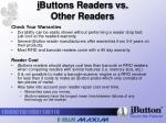 i buttons readers vs other readers11