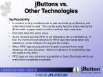 i buttons vs other technologies6