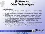 i buttons vs other technologies7