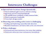interweave challenges