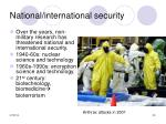 national international security29