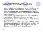 national international security30