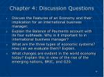 chapter 4 discussion questions