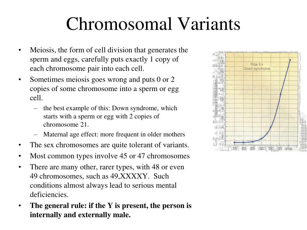 Chromosomal Variants