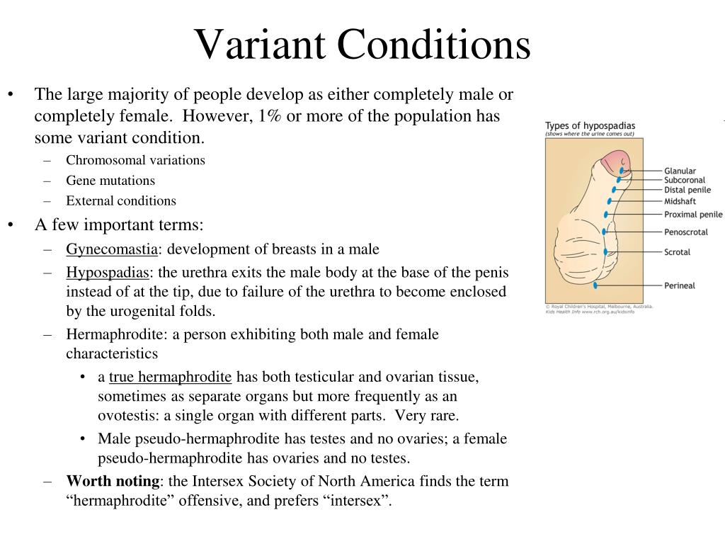 Variant Conditions