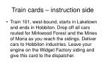 train cards instruction side22