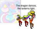 the dragon dances the lanterns light