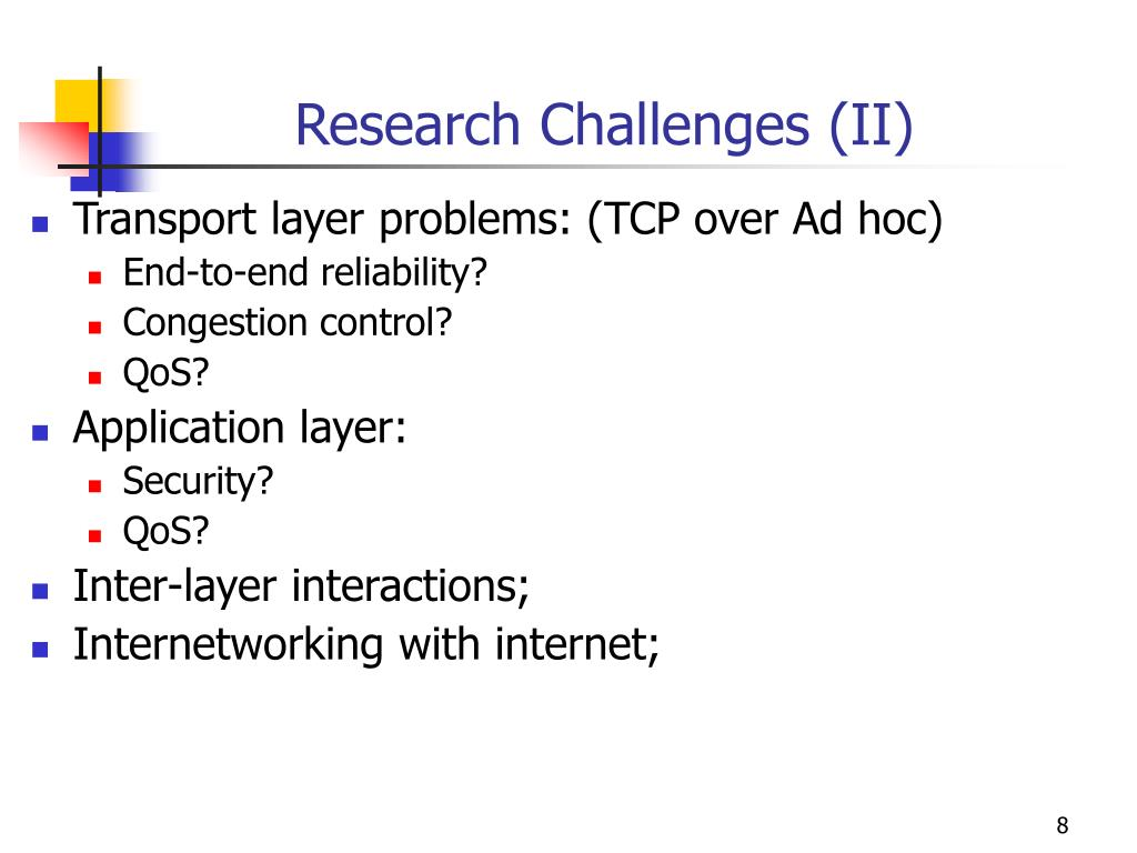 Research Challenges (II)