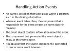 handling action events