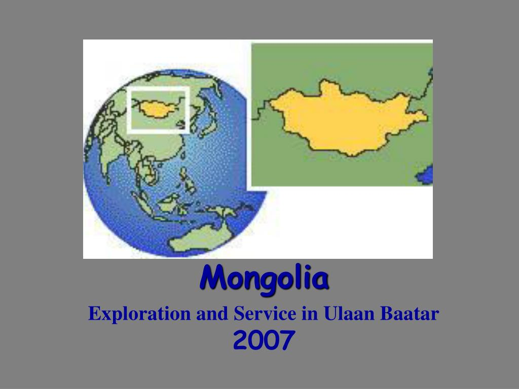 mongolia exploration and service in ulaan baatar 2007 l.