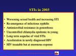stis in 2003