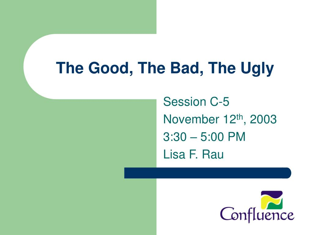 the good the bad the ugly l.