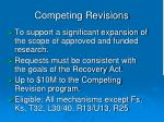 competing revisions