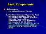 basic components12