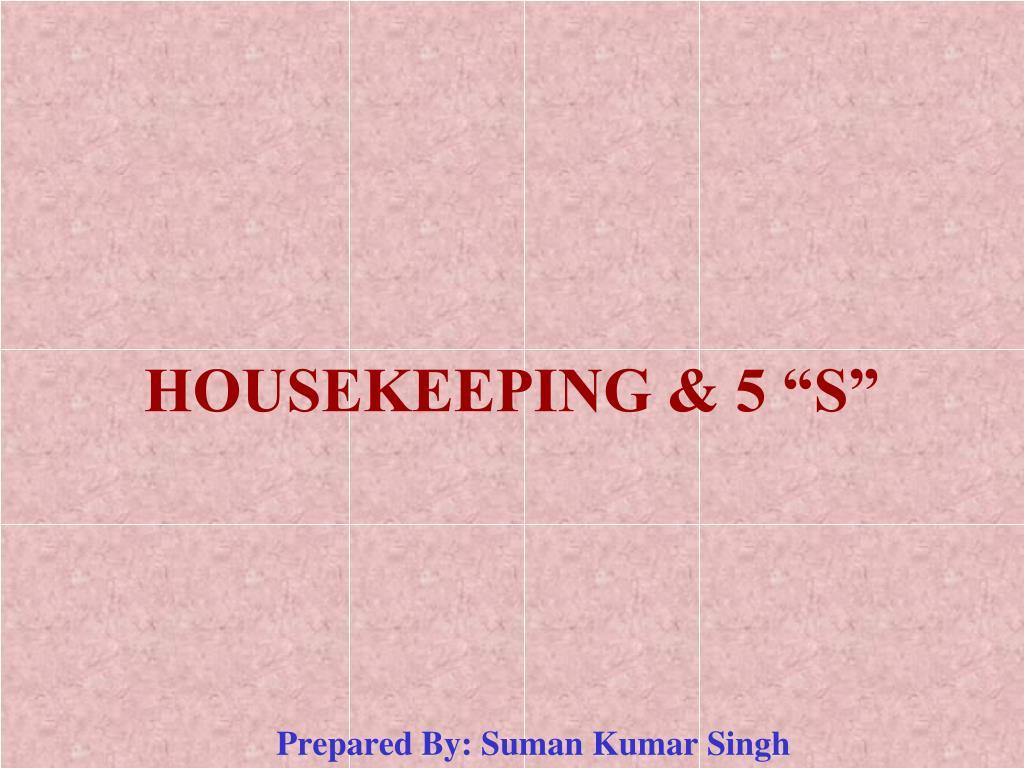 housekeeping 5 s l.
