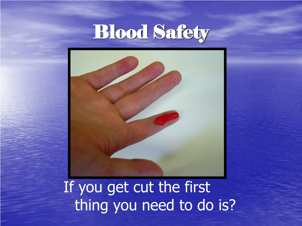 Blood Safety