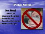 pickle safety8
