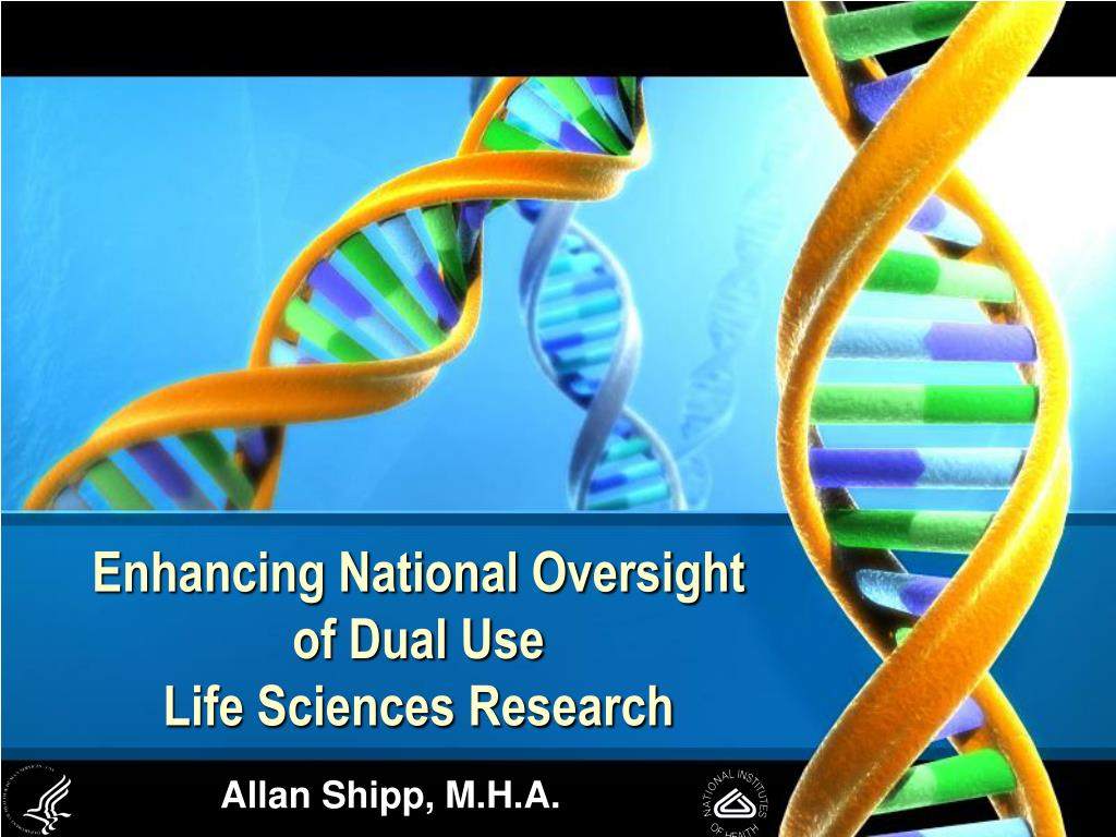 enhancing national oversight of dual use life sciences research l.
