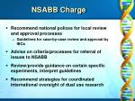 nsabb charge9