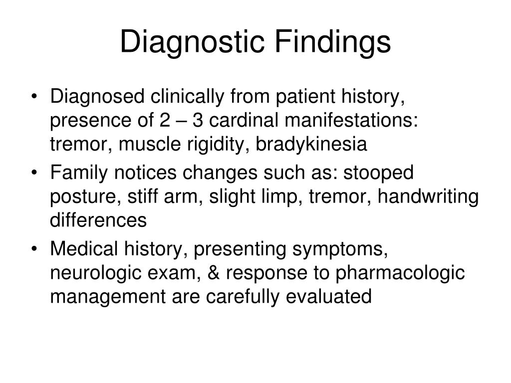 Diagnostic Findings