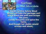 garbage by shel silverstein