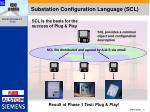 substation configuration language scl
