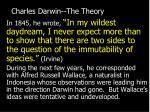 charles darwin the theory24