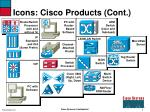 icons cisco products cont