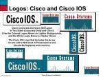 logos cisco and cisco ios