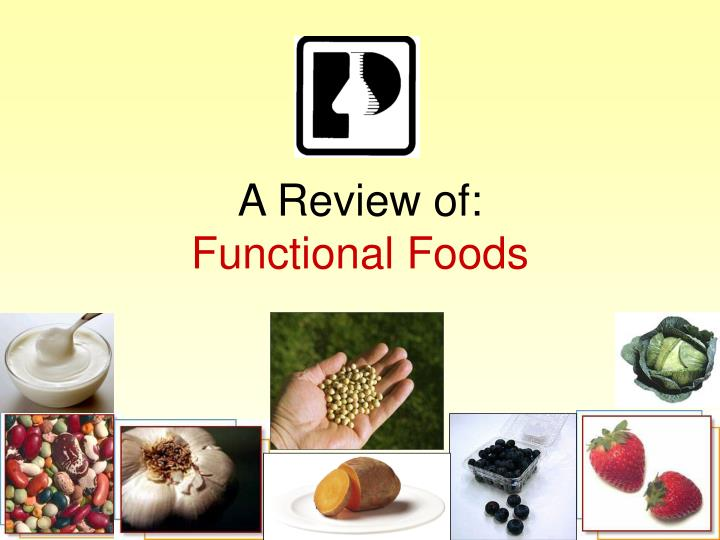 a review of functional foods n.