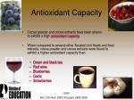 antioxidant capacity