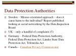 data protection authorities