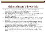 grimmelmann s proposals