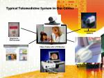 typical telemedicine system in our clinics