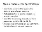 atomic fluorescence spectroscopy1