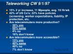 teleworking cw 9 1 97