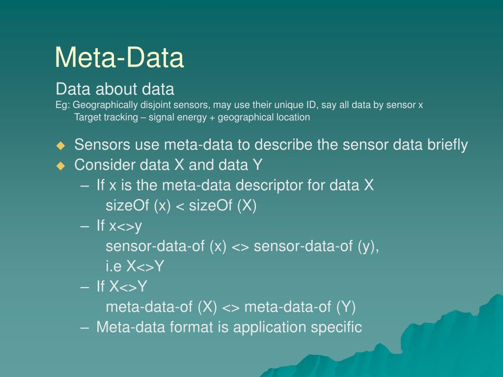 Meta-Data