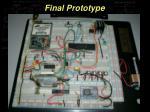 final prototype
