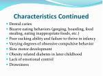 characteristics continued6