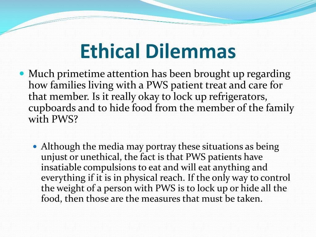 ethical dilemas