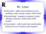 6 letter
