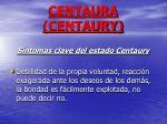 centaura centaury