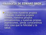 filosofia de edward bach