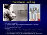 preferential looking